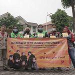 Ungkapan Terima Kasih, Donasi ARMY untuk Ojol Capai Rp 252 Juta