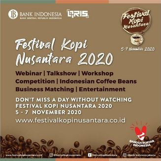 Bank Indonesia Kembali Gelar Festival Kopi Nusantara (FKN) 2020 Secara Virtual