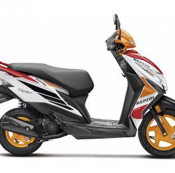 Dijual Cuma Rp 13 Jutaan Saudara Honda BeAT Pakai Livery Repsol Honda Resmi Meluncur