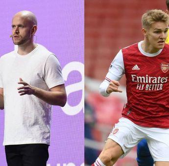 Daniel Ek Pendiri Spotify Menaikkan Harga Tawaran untuk Membeli Arsenal jadi Rp 40 Triliun!
