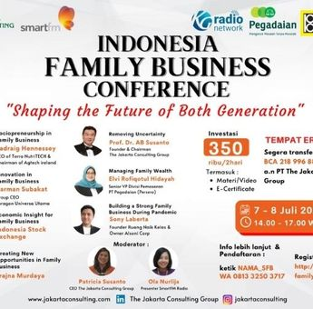 Indonesia Family Business Conference: Shaping the Future of Both Generation