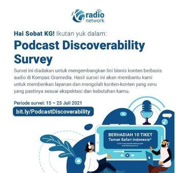 Ikutan Podcast Discoverability Survey, Bisa Dapat Hadiah Menarik