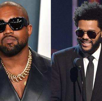 Fans Kanye West Menduga Single 'DONDA' akan Berkolaborasi dengan The Weeknd