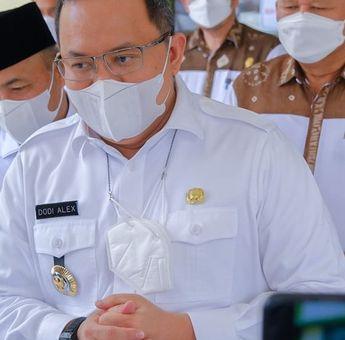 Bupati Dodi Reza Resmikan MVC Sehari Jelang HUT Muba ke-56