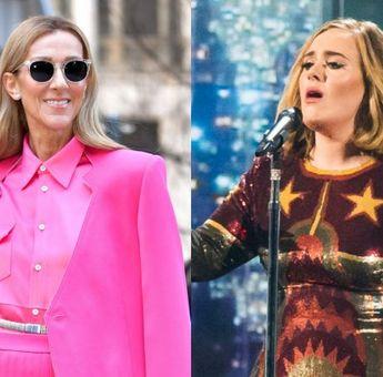 Adele Mengoleksi Permen Karet Bekas Celine Dion yang Dibingkai, Lho!