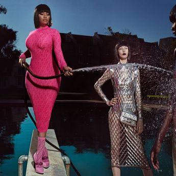 Nicki Minaj Kolaborasi dengan PnB Rock & Murda Beatz di 'Fendi'
