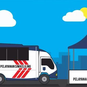 Jadwal SIM dan Samsat Keliling Wilayah DKI Jakarta Hari Jumat, 8 November 2019