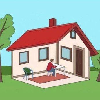 Tes Kepribadian: Tebak Pria Ini Berada di Dalam Rumah atau di Luar Rumah