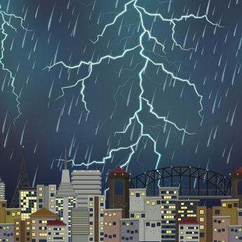 Rayakan Malam Pergantian Tahun? BMKG: Jakarta Berpotensi Hujan Petir