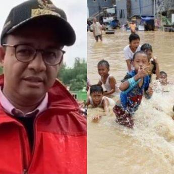 Anies Pilih Pantau Warganya yang Kebanjiran Ketimbang Hadiri Rapat DPR