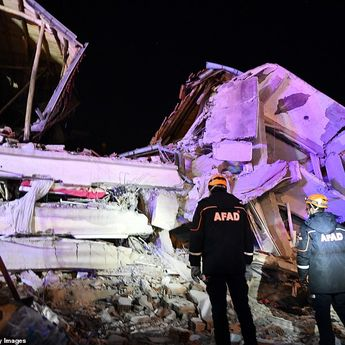 Gempa Magnitudo 6,8 di Turki, 18 Meninggal dan 500 Lainnya Terluka