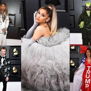 Yuk Intip Kostum Musisi Dunia di Grammy Awards 2020, Ariana Grande Memukau!