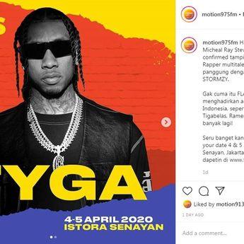 Setelah Stormzy dan Lil Pump, FLAVS 2020 Pastikan Tyga Sebagai Headliner