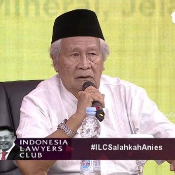 Ridwan Saidi: Sebut Banjir di Jakarta Dari Zaman Belanda Bukan Salah Anies