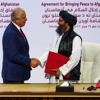 Amerika Serikat Berdamai Dengan Taliban, Menlu AS: Ini Hari Penting