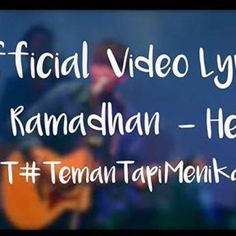 Lirik Lagu 'Hello You' Ost Teman Tapi Menikah By Iqbal Ramadhan