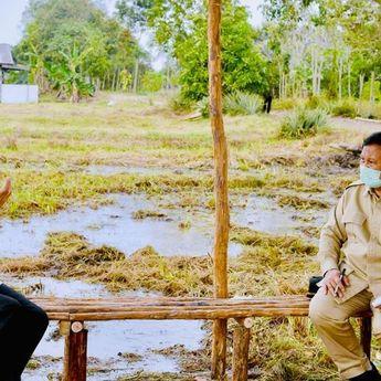 Jokowi Tunjuk Prabowo Pimpin Proyek Lumbung Pangan, Ini Alasannya