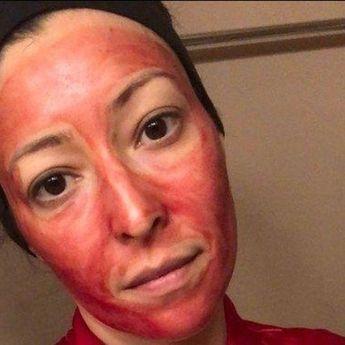Percaya Timbulkan Efek Glowing, Wanita Ini Rutin Pakai Masker Darah Haid