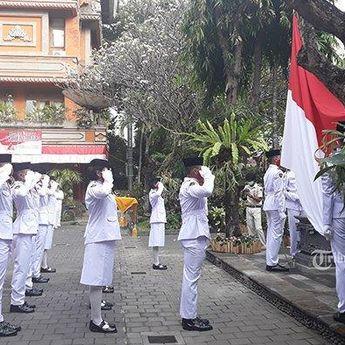 Pelaksanaan Upacara HUT ke-75 RI di Denpasar Digelar Sederhana dan Peserta Terbatas