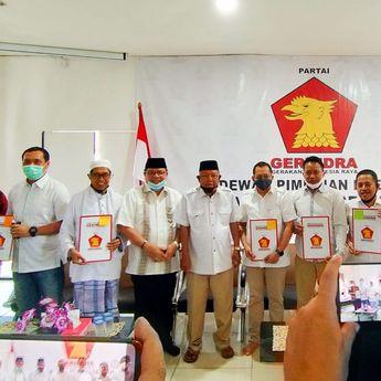 Jelang Pendaftaran, Partai Gerindra Resmi Usung 5 Pasangan Calon