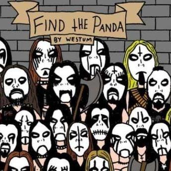 Tes ketajaman Mata, Bisakah Anda Temukan Panda Kurang dari 10 Detik?