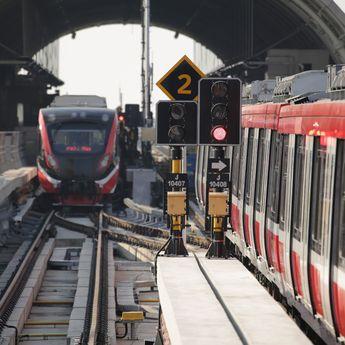 Empat BUMN Uji Coba Sistem Persinyalan LRT Jabodebek