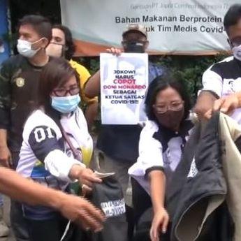 Geleng Kepala dengan Sumbangan Masker untuk Kerumunan, Relawan Satgas Covid-19 Mundur