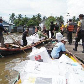 Distribusi Logistik Pilkada di Banjarmasin Menunggu APD Tiba