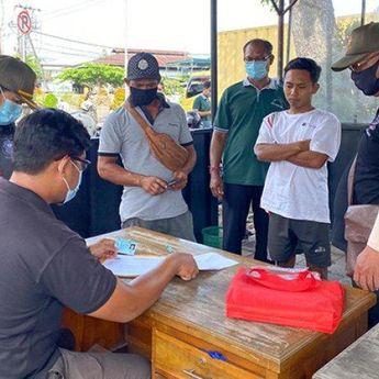 Satpol PP Kota Denpasar Kumpulkan Rp 57,6 Juta Uang Denda dari Pelanggar Protokol Kesehatan