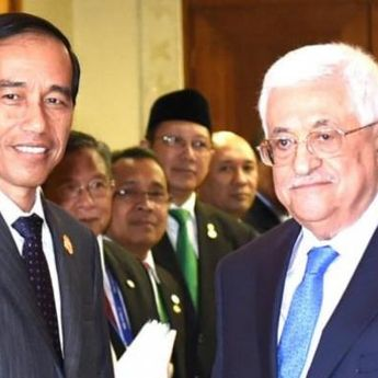 Presiden Palestina Berterimakasih ke Jokowi Setelah Tolak Hubungan Diplomatik dengan Israel