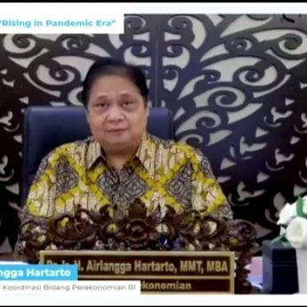 11th Kompas100 CEO Forum, Menko Airlangga Sebut Indonesia Akan Pimpin Pemulihan Ekonomi di Asean
