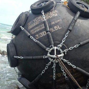Bola Hitam Raksasa yang Ditemukan di Bintan Dipastikan adalah Dapra Kapal