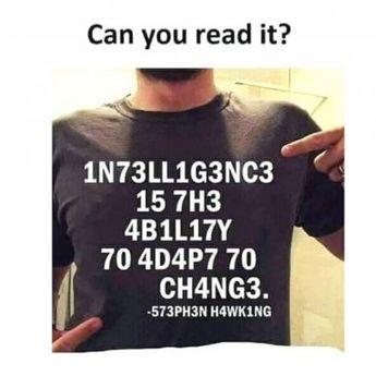 Tes Kecerdasan: Hanya Orang Jenius yang Bisa Membaca Tulisan Ini?