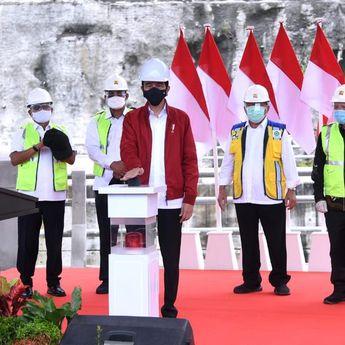 Jokowi: Bendungan Tapin Mampu Kendalikan Banjir di Wilayah Sekitar