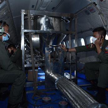 TNI AU dan BPPT Lakukan Modifikasi Cuaca Untuk Antisipasi Banjir