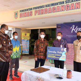Peduli Bencana Kalsel, Kemendag Bagi 1000 Paket Barang Pokok