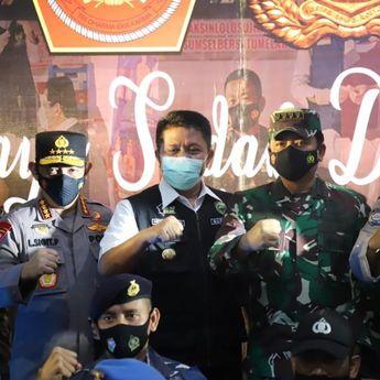 Usai Divaksin, 2000 Personil TNI dan Polri Sumsel Siap Bantu Pemerintah Tegakkan Prokes