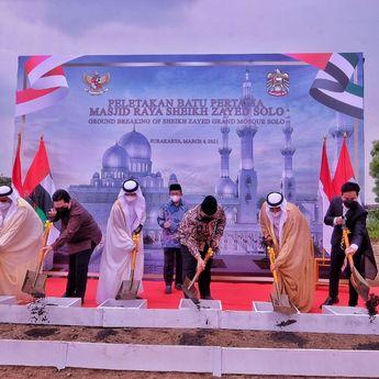 Masjid Raya Sheikh Zayed, Masjid Pertama Bertaraf Internasional Yang Akan Dibangun Di Solo
