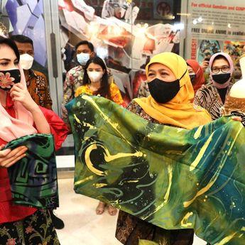 Pameran Batik Fair, Gubernur Khofifah: Momentum Kebangkitan UMKM Jatim