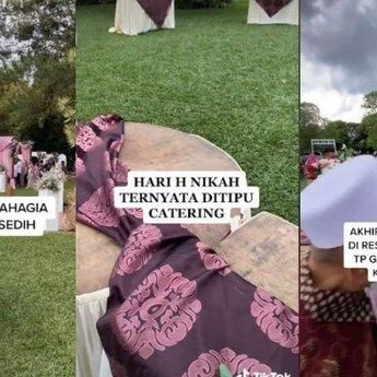 Tega! Katering Tak Hadir di Hari Pernikahan, Hari Bahagia Jadi Sedih