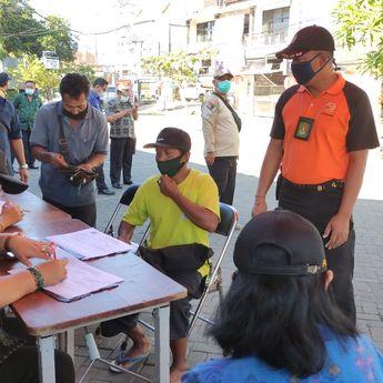 Tim Yustisi Jaring 21 orang Pelanggar Prokes Di Kota Denpasar