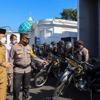 Pimpin Apel Pasukan Larangan Mudik, Wali Kota Surabaya Harap Warga Menahan Diri