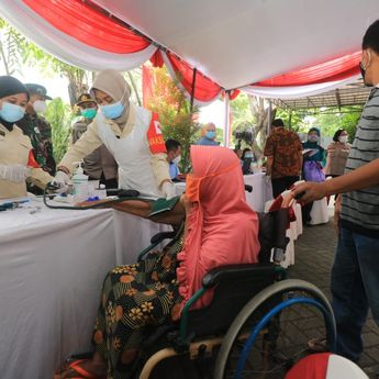 Per 26 April, 788.313 Warga Surabaya Sudah Divaksin Covid-19