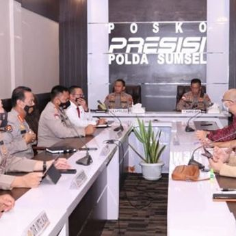 Kapolda Terima Audiensi Perwakilan Pengelola Mall di Palembang