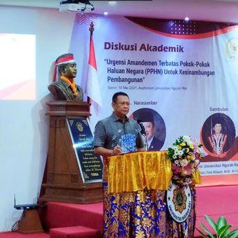 Universitas Ngurah Rai Gelar Diskusi Urgensi Amandemen Terbatas PPHN Untuk Kesinambungan Pembangunan