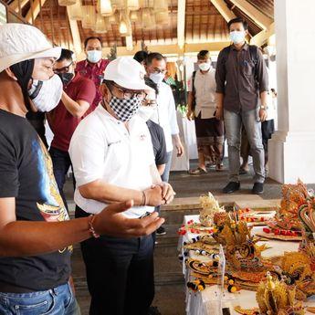 Wakil Gubernur Bali Buka Pameran UMKM Layang-Layang Expo 2021