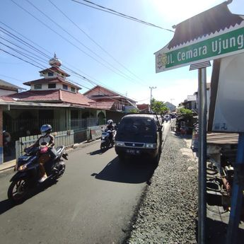 Jalan Cemara Ujung Banjarmasin Sudah Mulus, Warga: Saat Berkendara Sampai Tak Sadar Jika Sudah Sampai Rumah