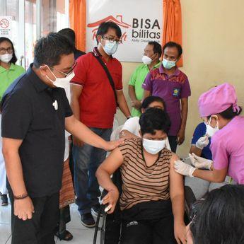 Vaksinasi di Kota Denpasar menyasar Kepada Penyandang Disabilitas dan Skizofrenia