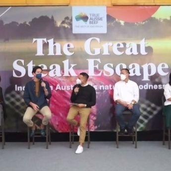 The Great Steak Escape, Dimas Beck: Daging Sapi Australia Memang Beda!