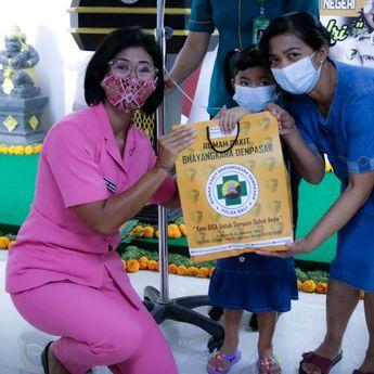 'Senyum Bersama Polri', Polda Bali Gelar Operasi Bibir Sumbing Gratis